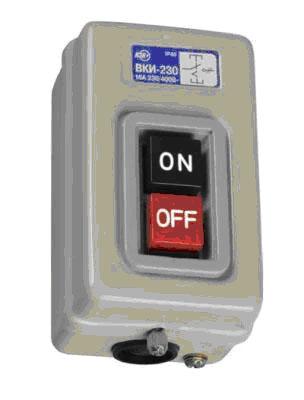 Выключатели кнопочные с