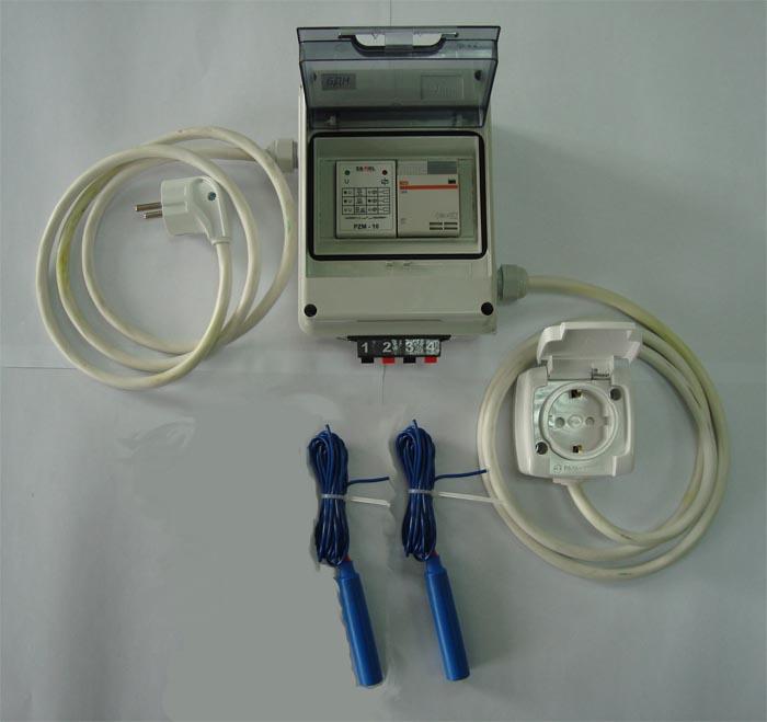 Блок контроля уровня жидкости